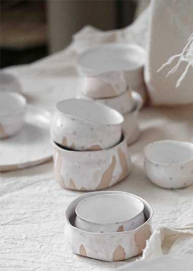 Artistic ceramics: Handmade Dinnerware