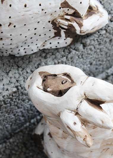 Artistic ceramics: Handmade sculpture