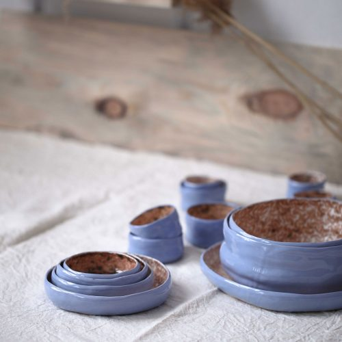 "Collection decorative dinnerware ""Dejavu"" (Artistic ceramics)"