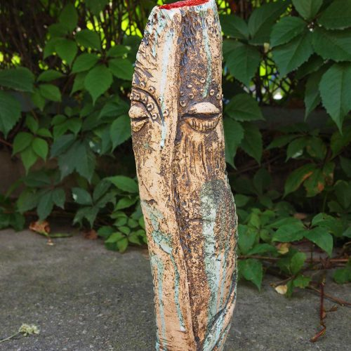 "Decorative vase — Series ""Imagination"" No. 4"