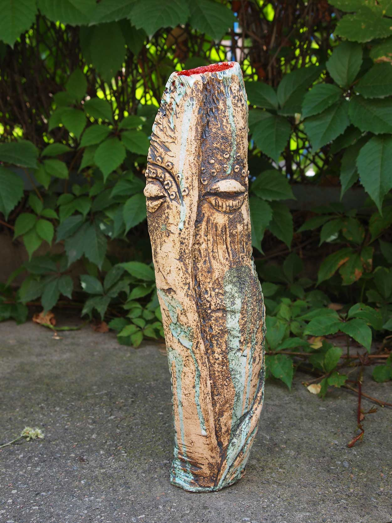 Decorative vase for flowers (Handmade)