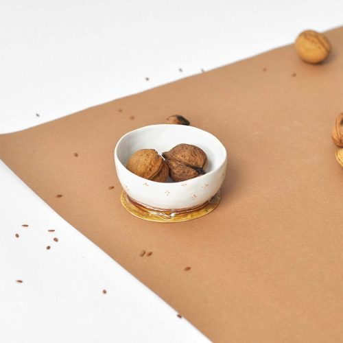 Side view - Decorative small bowl (Handmade)
