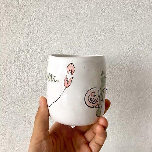 Ceramic glass No. 1