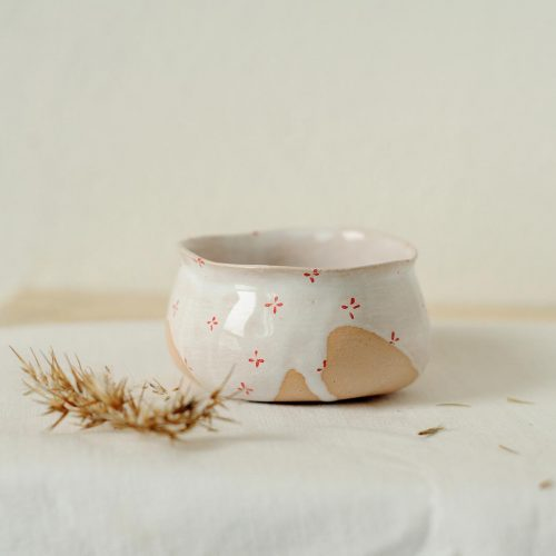 Decorative sauceboat from ceramics (Handmade)