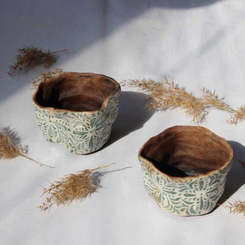 Set flower pots