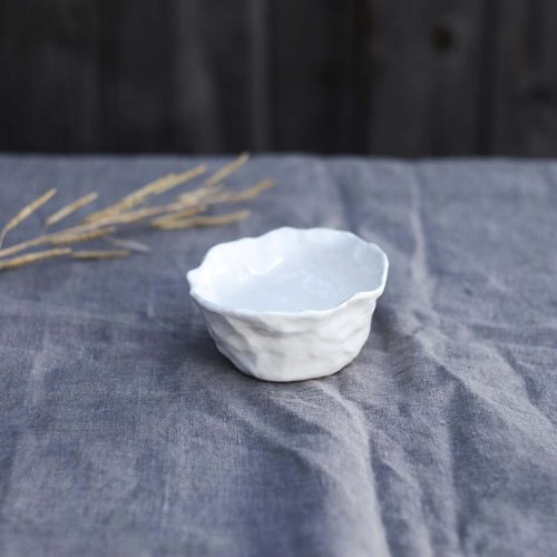 Side view - Small decorative bowl (Handmade)