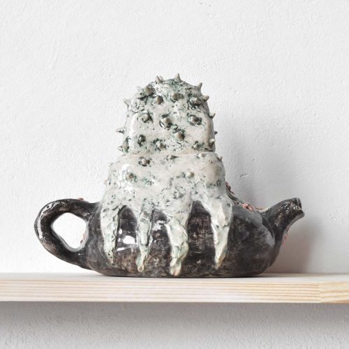 "Decorative teapot — Series ""Presence"" No. 3"