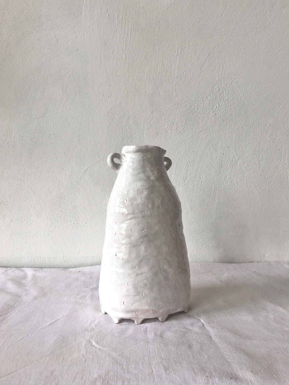"""Rear view - Vase """"Kiss"""""""