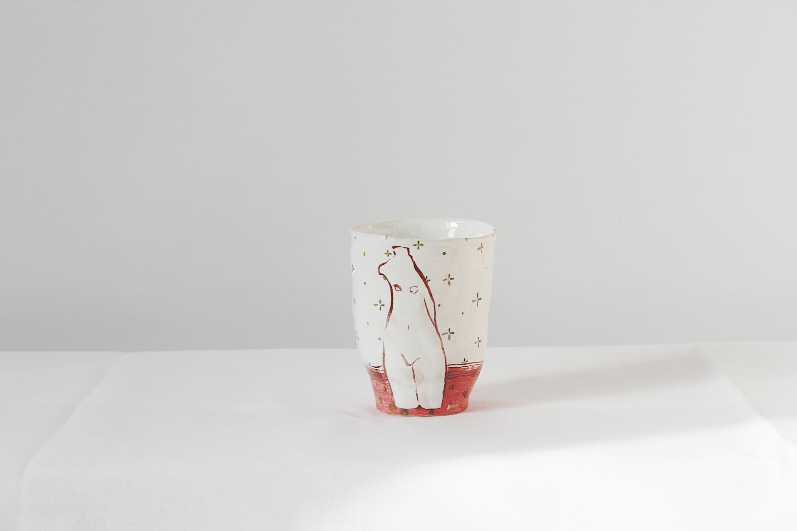 Glass from ceramics (Handmade)