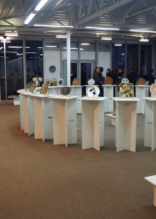 "Exhibition of artistic ceramics ""Vichne kolo"""