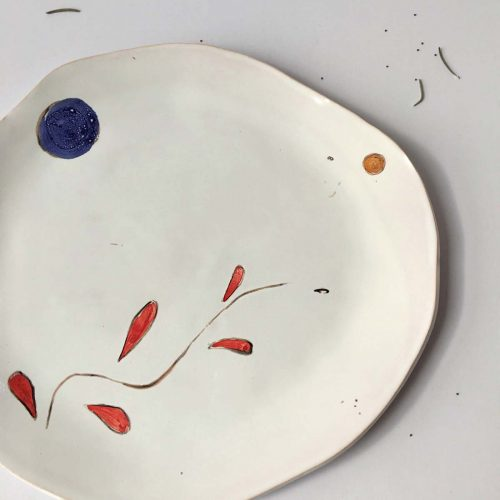 "Painting - Flat plate ""Composition No. 6"""