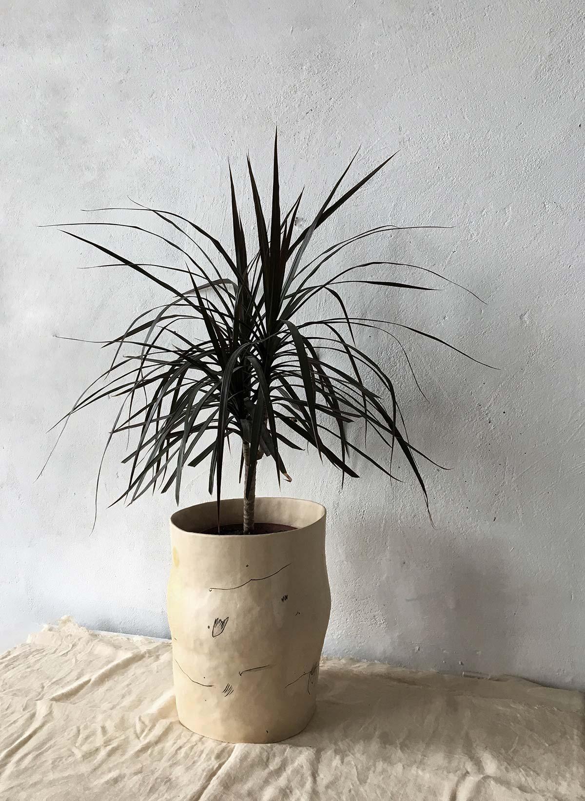 Flowerpot for flowers (Handmade)