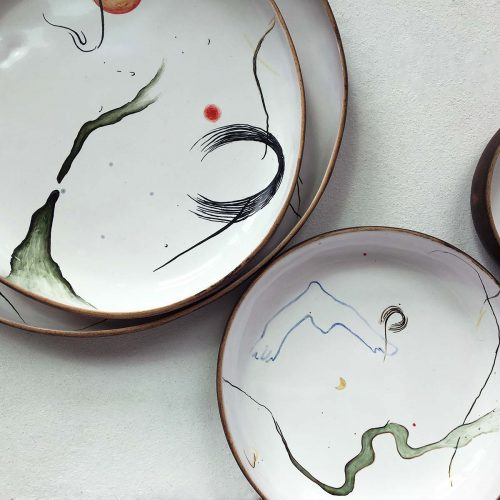 "Plates  — Collection ""Space"""