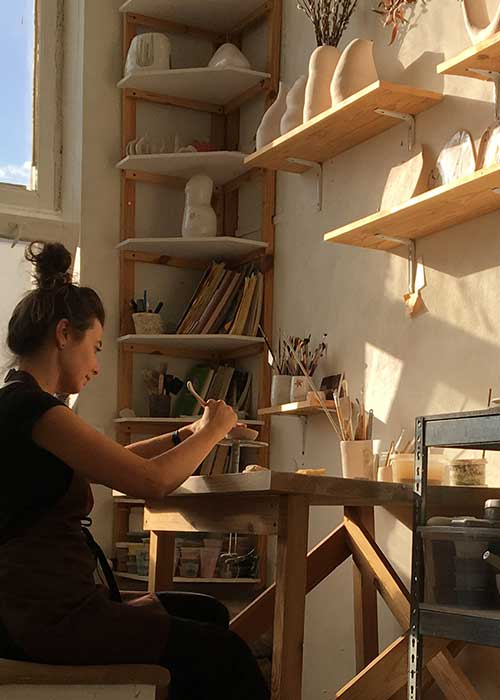 Two-day master class from ceramics