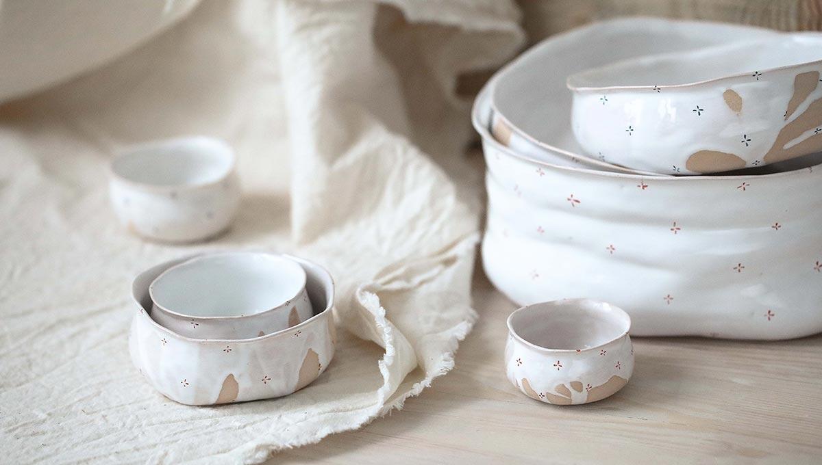 Художня кераміка: Колекції посуду