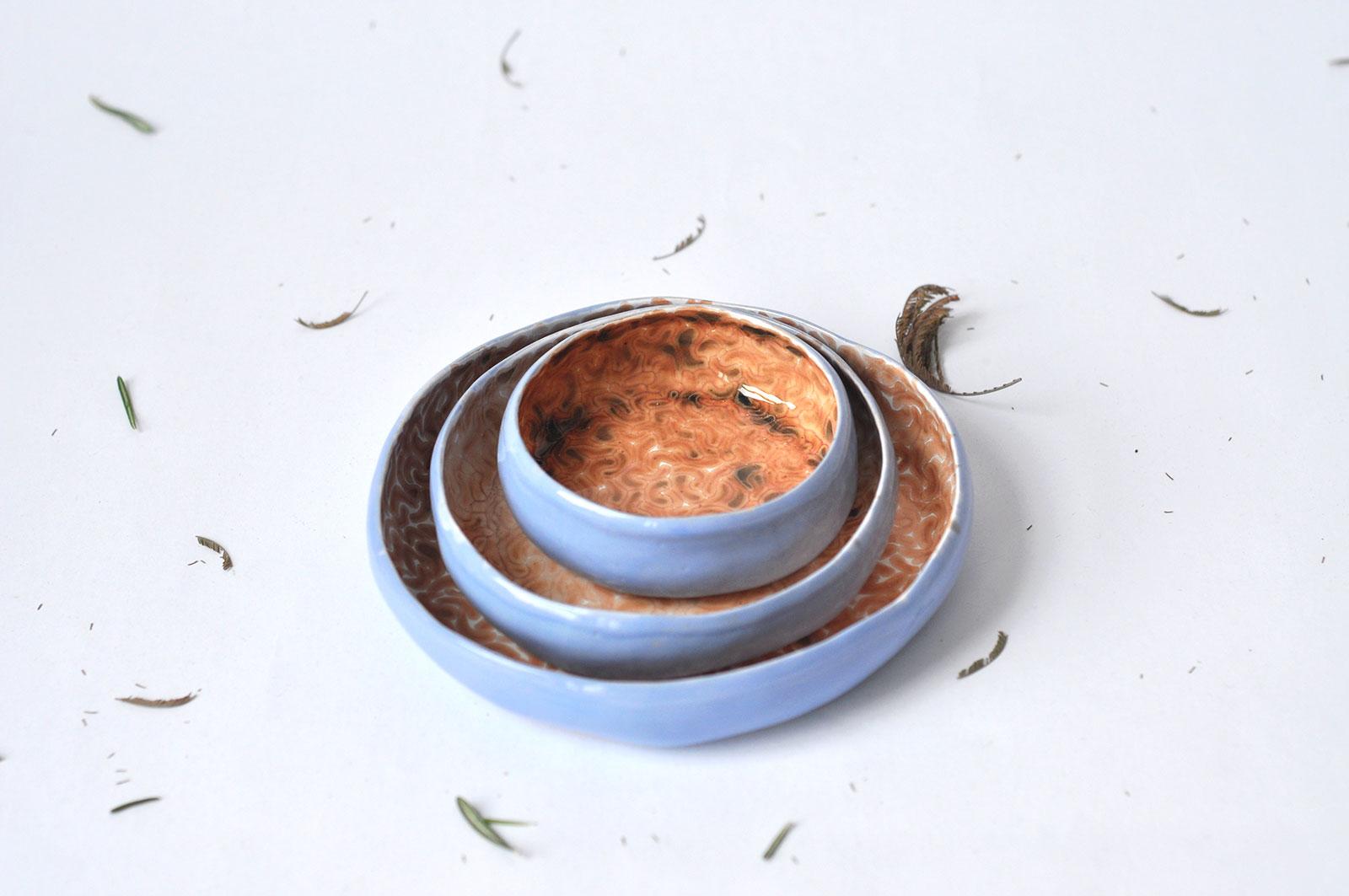 Декоративні керамічні тарілки - Колекція «Дежавю» (Ручна робота)