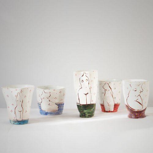 Склянки з серії «Оголені»