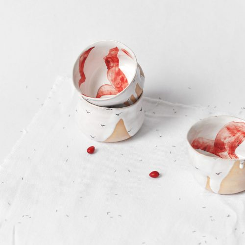 Декоративні піали з кераміки - Колекція «Чайки» (Ручна робота)