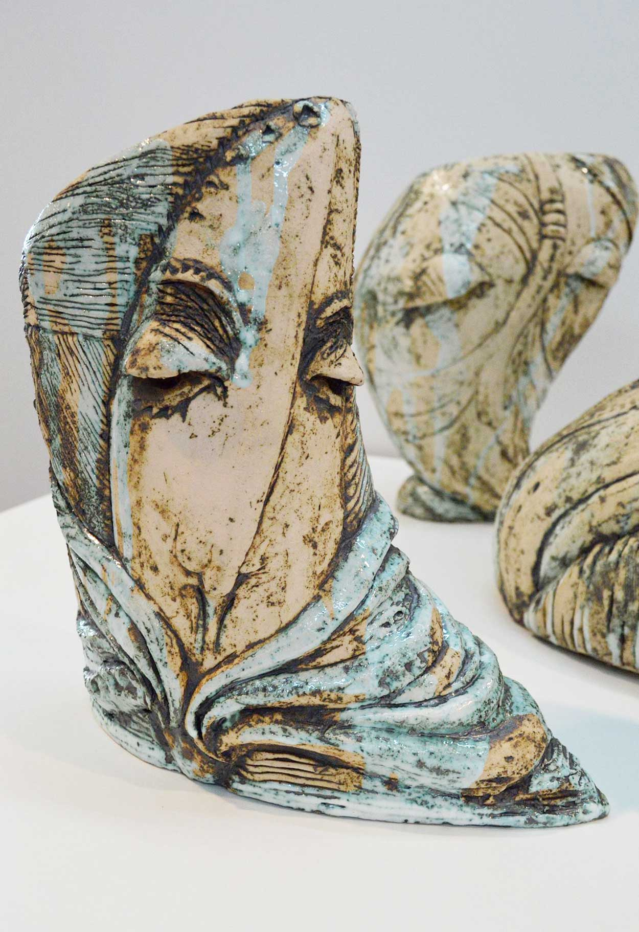 Декоративна керамічна ваза (Ручна робота)