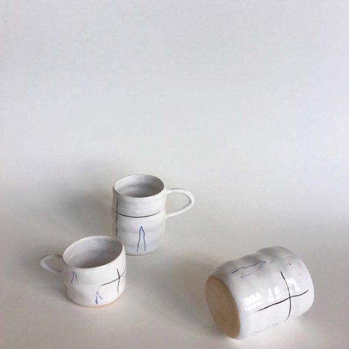 Набір з двох чашок і склянки «Хвилі»