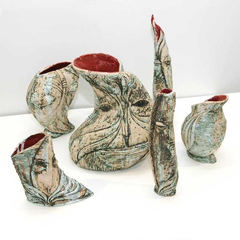 Серія декоративних ваз «Образ» (Художня кераміка)