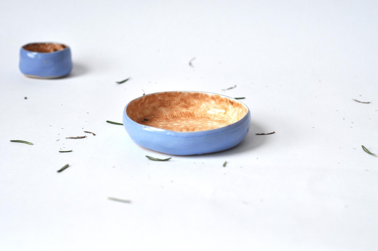 Маленька глибока тарілка (Ручна робота)