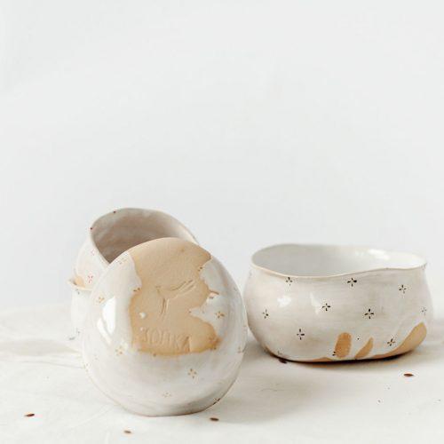 Соусники з колекції «Квіти з молоком»