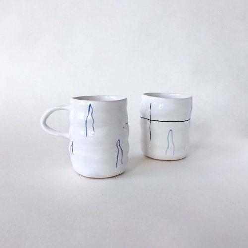 Стакан і чашка «Хвилі»