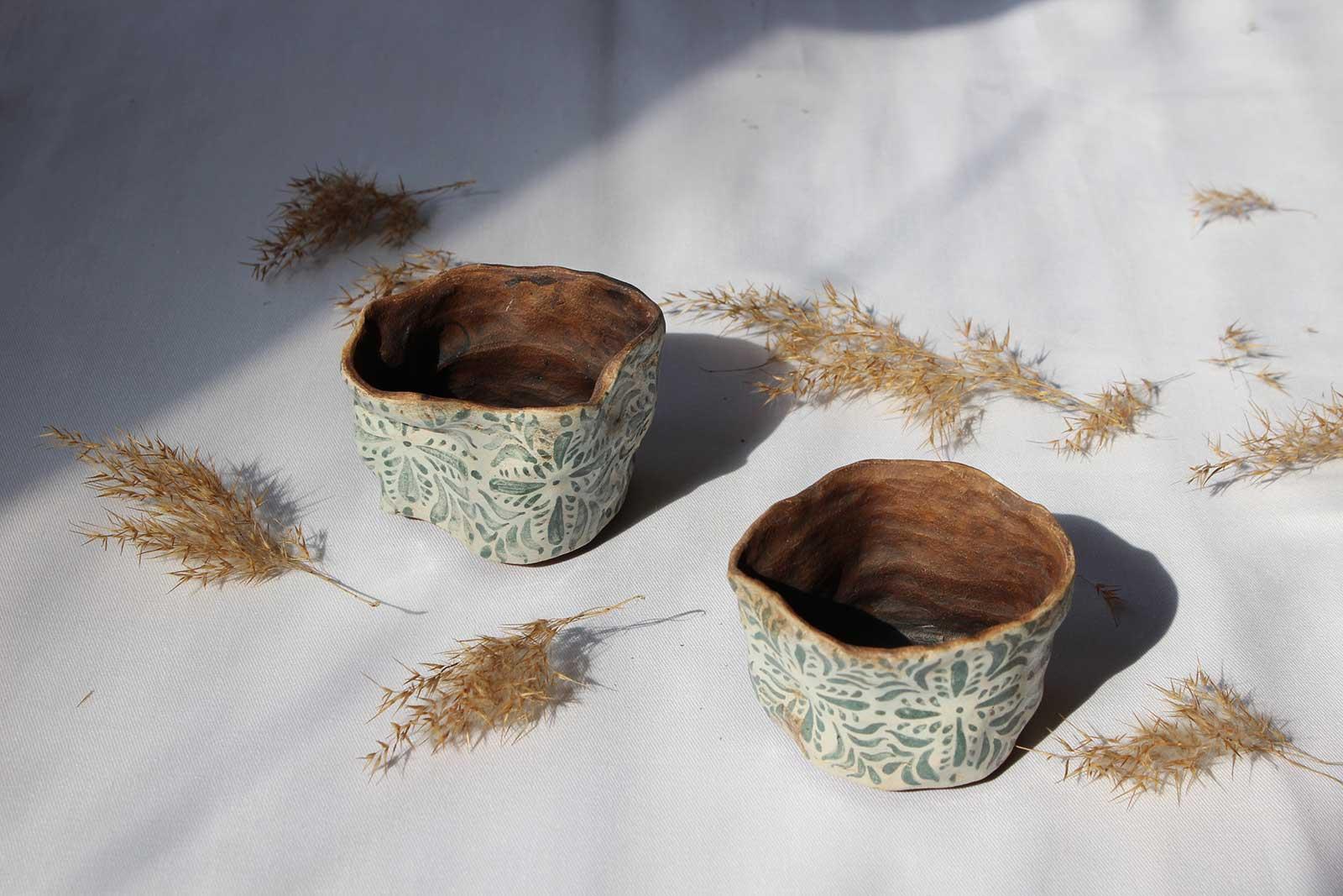 Декоративні горщики для квітів (Ручна робота)