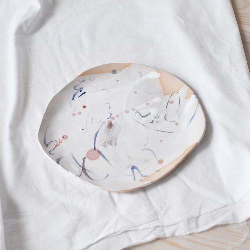 Вид спереду - Декоративна тарілка (Ручна робота)