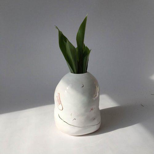 Декоративна ваза для квітів