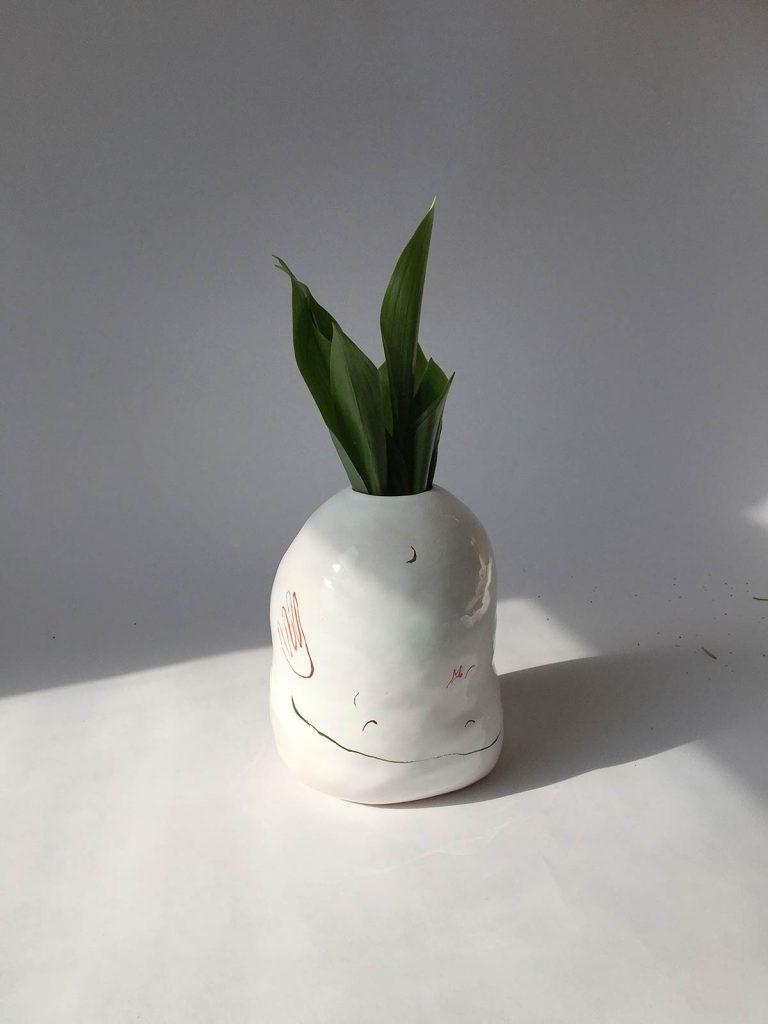 Декоративна ваза для квітів (Ручна робота)