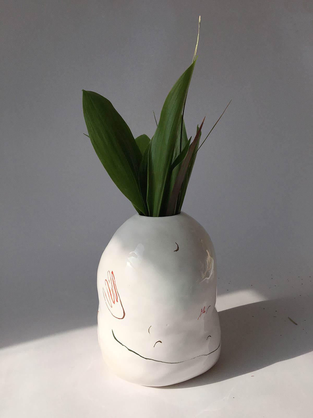 Декор - Декоративна ваза для квітів (Ручна робота)