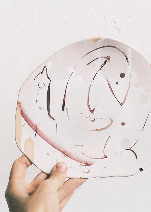 Серия декоративных тарелок «Танец» (Художественная керамика)