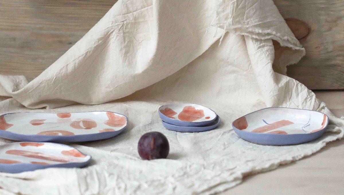 Серия тарелок «Апельсины»