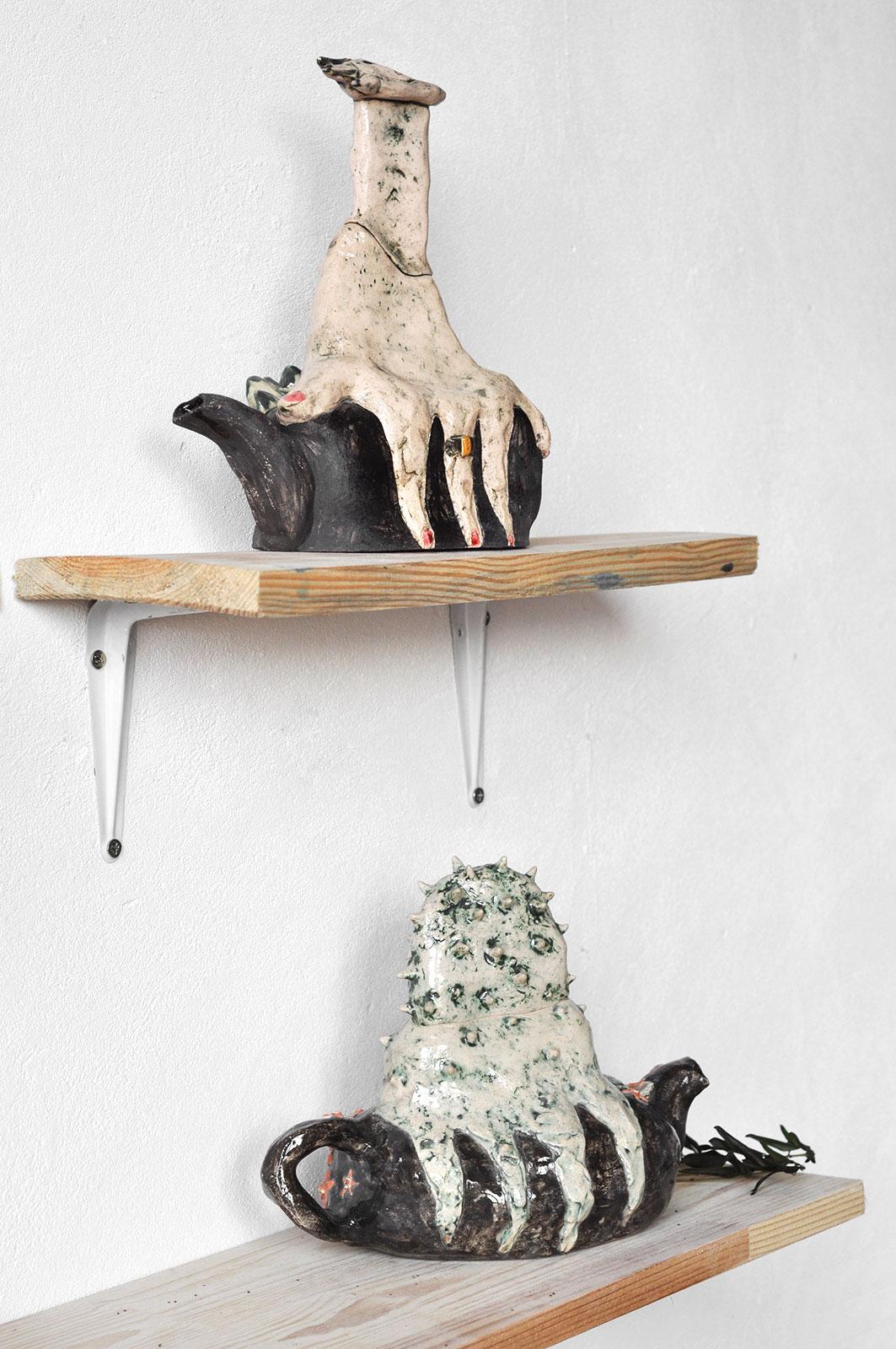 Серия декоративных чайников «Присутствие» (Художественная керамика)
