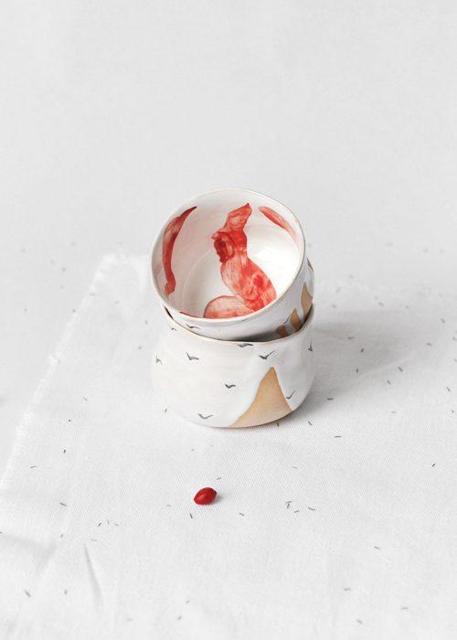 Декоративные соусники из керамики - Коллекция «Чайки» (Ручная работа)
