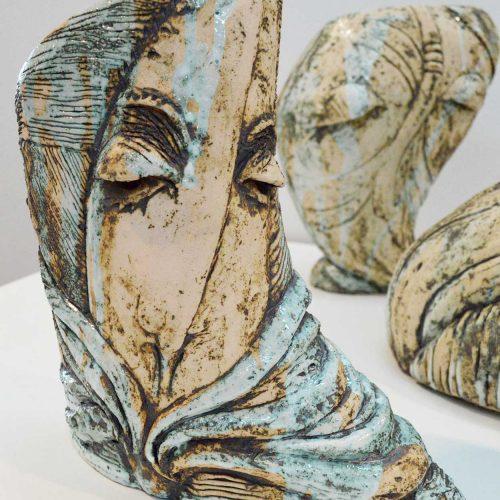 Декоративная ваза из серии «Образ» № 1