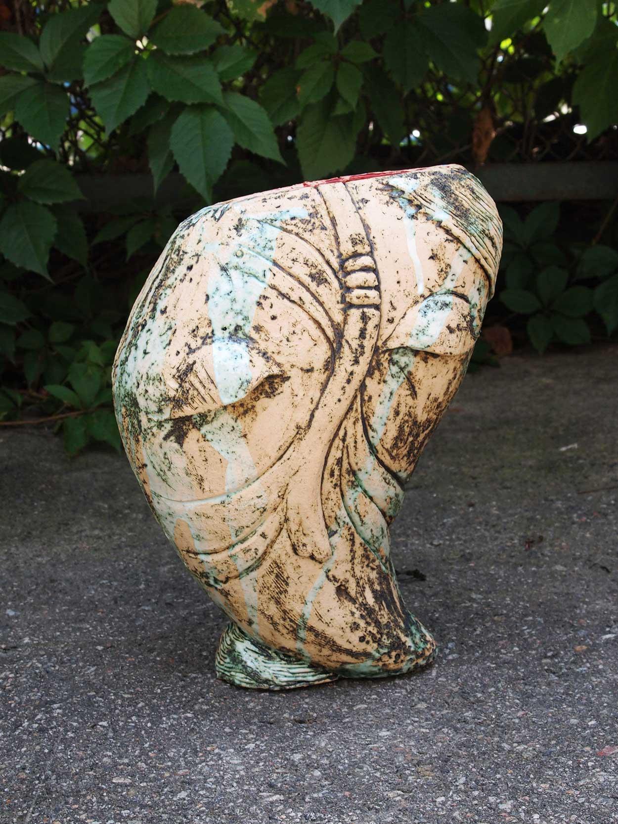 Декоративная ваза (Ручная работа)