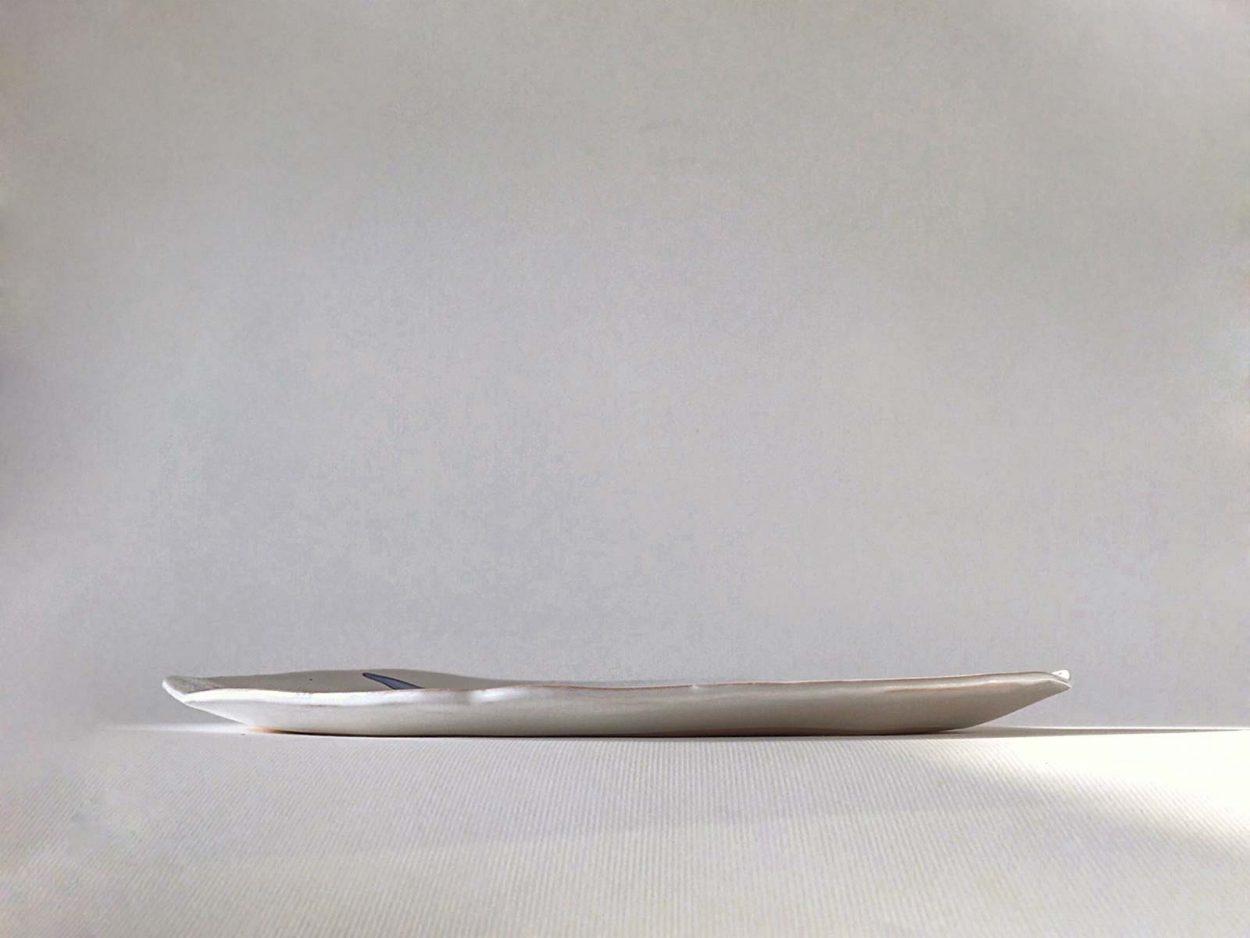 Вид сбоку - Большая круглая тарелка