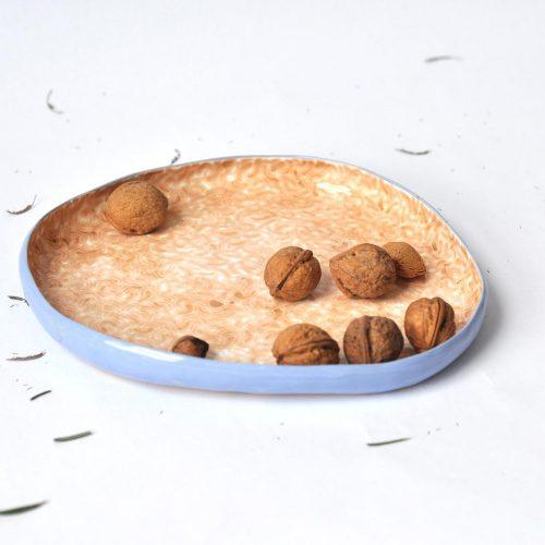 Плоские тарелки из коллекции «Дежавю»