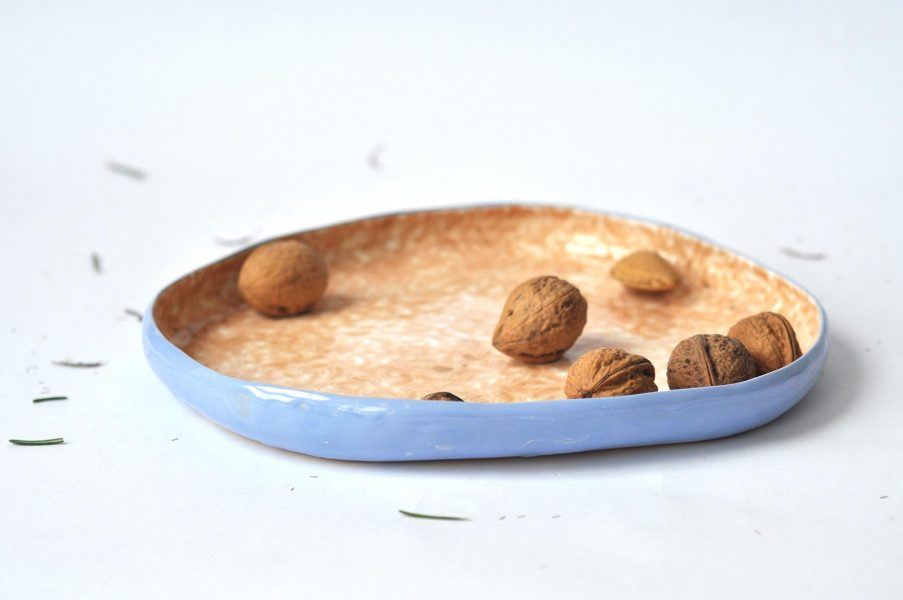 Плоские тарелки - коллекция «Дежавю»