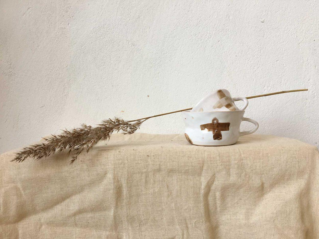 Декор - Чайная чашка (Ручная работа)
