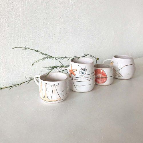 Чашки из коллекции «О лете»