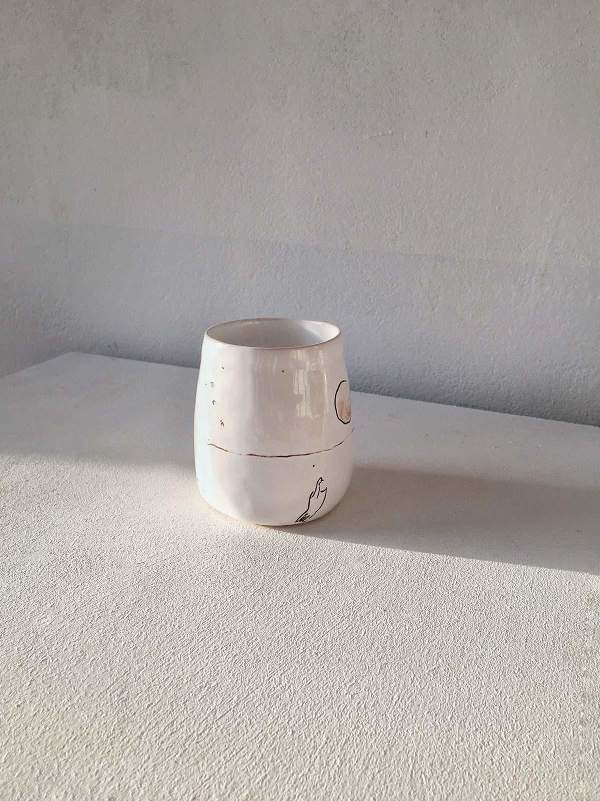 Керамический стакан № 6