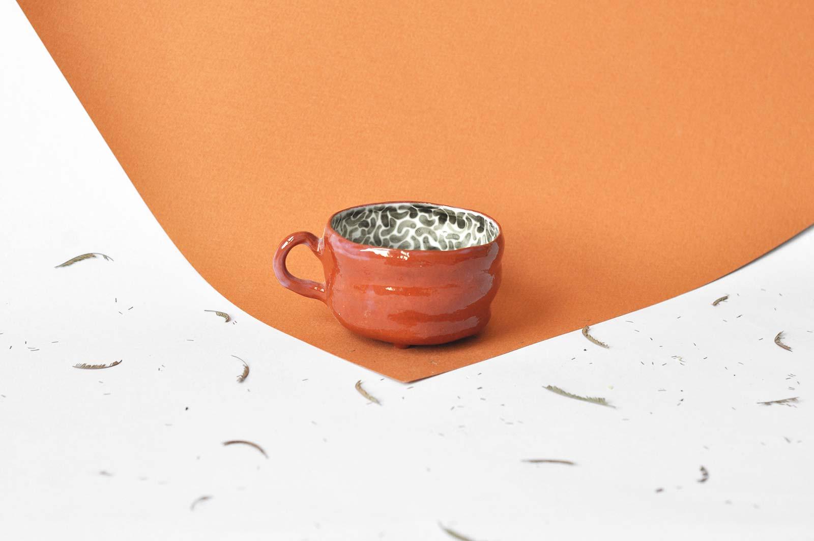 Кофейная чашка (Ручная работа)