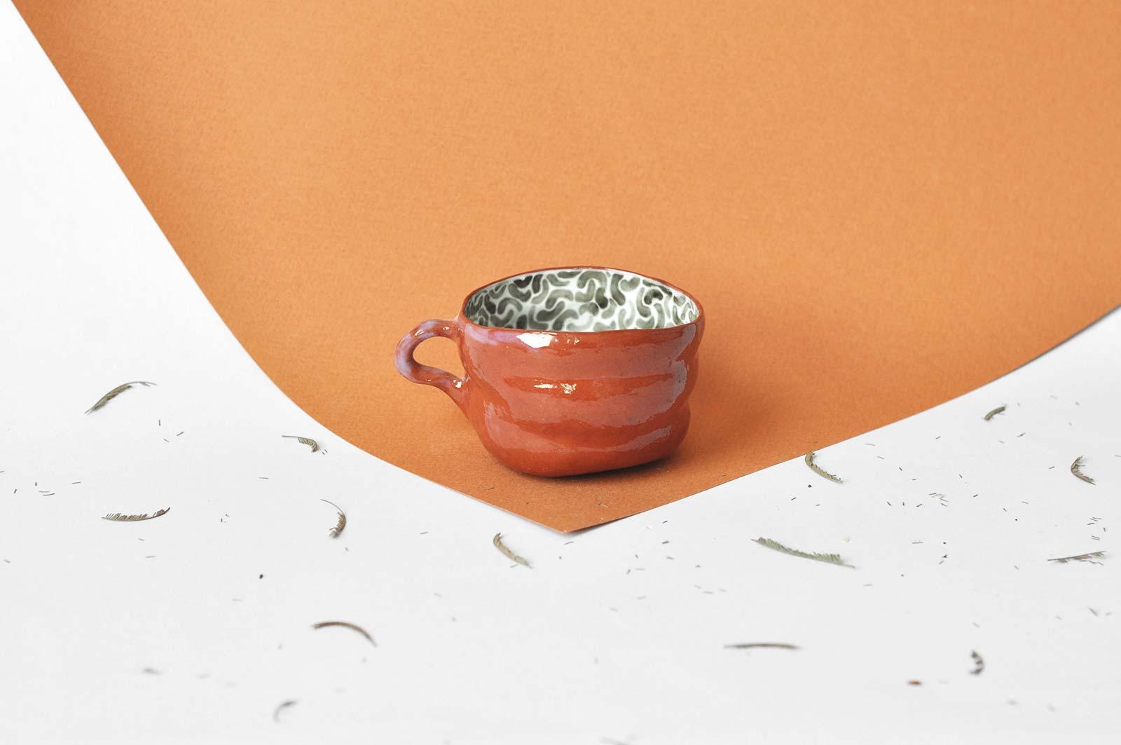 Чашка для кофе (Ручная работа)