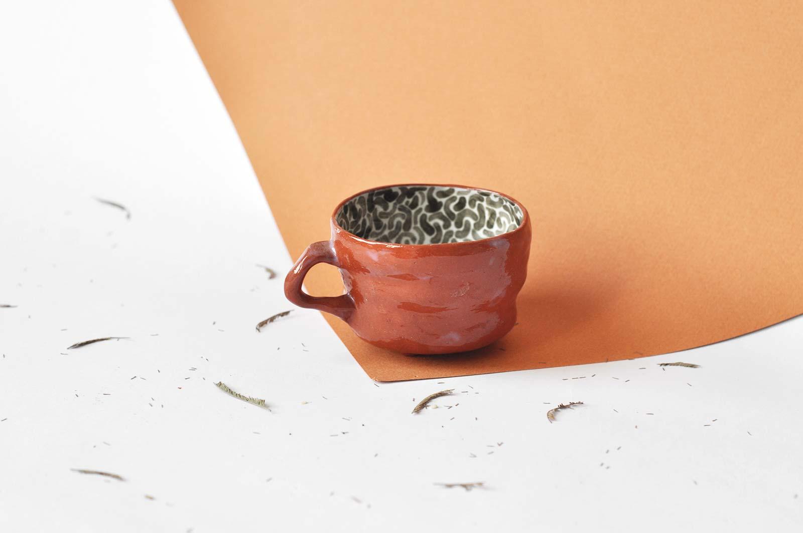 Декоративная чашка (Ручная работа)