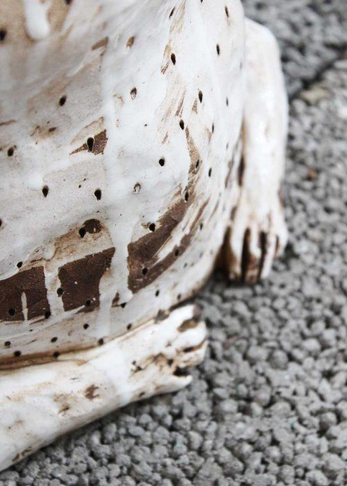 Декоративная скульптура из керамики - Серия «Сплетницы» (Ручная работа)