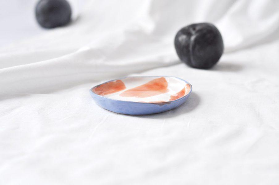 Маленькие тарелки - набор «Апельсины»